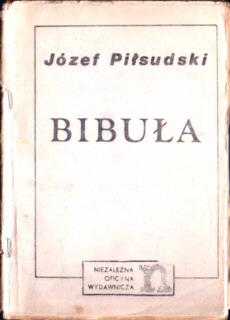 Piłsudski Pilsudski Bibuła bibula 1903 konspiracja rewolucja cenzura censor censorship Zensur książka nielegalna Robotnik PPS niepodległość niepodleglosc Nowa b134pilzsi_bib_1978_now
