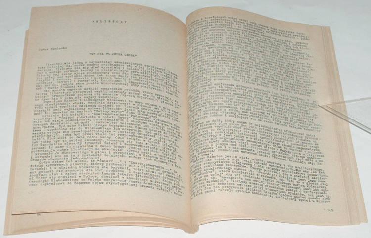 Arka-Nr-14-Eseistyka-Krytyka-Literatura-1986-Krakow-bibula-Nowak-Jezioranski-Baranczak-Mitzner-Polkowski