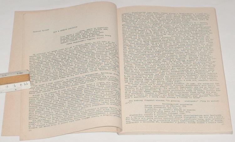 Arka-Nr-17-Eseistyka-Krytyka-Literatura-1987-Krakow-bibula-Maleszka-Litynski-Celinski-Handzlik-Sabbat