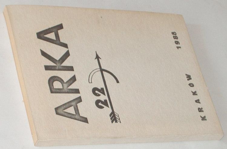 Arka-Nr-22-1988-Krakow-bibula-Najder-Legutko-Trznadel-Stala-Malewski-Dworak-Karski-Fikus-Nyczek-Keyha