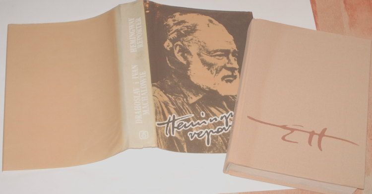 Machalowie-Drahoslav-Ivan-Hemingway-reporter-Wyd-3-Katowice-Slask-1989-To-prave-miesto-Machala-Czcibor-Piotrowski
