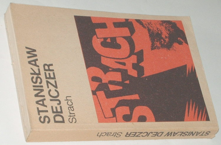 Dejczer-Stanislaw-Strach-Gdansk-Morskie-1985-powiesc-polska
