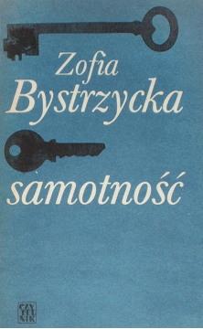 Bystrzycka Samotność Samotnosc Literatura Literature Literary Fiction 5892891 hal0043