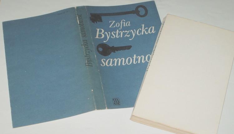 Bystrzycka-Zofia-Samotnosc-Czytelnik-1978-powiesc-polska-lata-1950-te