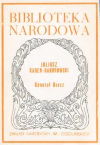 Kaden Bandrowski Generał Barcz 8304016125 83-04-01612-5 General 0208-4104 02084104 23913352 nar0203