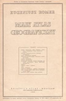 Romer Mały atlas geograficzny mapy mapa nbs1042
