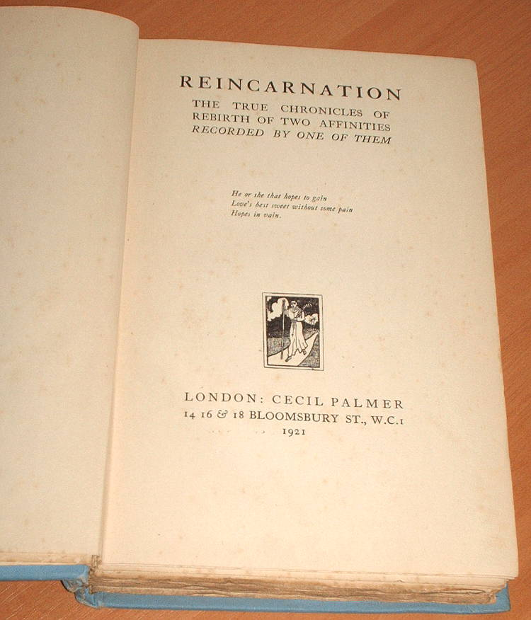 Cedric-s-Scribe-Reincarnation-The-True-Chronicles-of-Rebirth-of-Two-Affinities-Recorded-By-One-of-Them-Palmer-1921