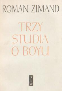 Zimand Trzy studia o Boyu Instytut Badań Literackich Markiewicz IPL Tadeusz Żeleński Zelenski Boy biografia biography 6392515 ncp1233