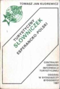 Język esperanto Turystyczny słowniczek esperancko-polski słownik Kudrewicz slownik dictionary net0125