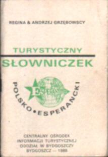 Język esperanto Turystyczny słowniczek polsko-esperancki słownik Grzębowscy Grzębowska Grzębowski slownik Grzebowscy Grzebowska Grzebowski dictionary net0126