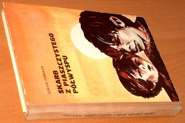 Furmaga-Leslaw-Skarb-z-piaszczystego-polwyspu-Wydawn-Morskie-1976-ilustr-Sikora-morze-wybrzeze