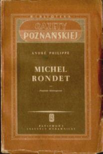 Philippe André Andre Michel Rondet Karski literatura francuska Patinaud kapitalizm związki zawodowa górnicy górnictwo komunizm walka związkowa 43910693 odd1017