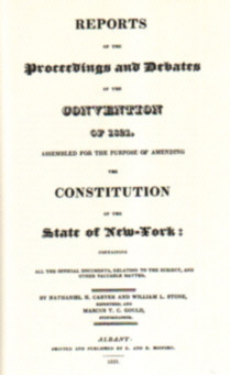 Proceedings and Debates of the New York Constitutional Convention 1821 0306700697 0-306-70069-7 306700697 306-70069-7 American Americana Ameryka Stany Zjednoczone USA United States Konstytucja amerykańska odd2051