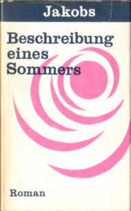 Jakobs Beschreibung eines Sommers powieść niemiecka niemiecki odd2055