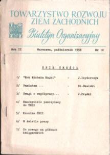 Towarzystwo Rozwoju Ziem Zachodnich TRZZ Kajka Skalski Prędki Izydorczyk odd3085