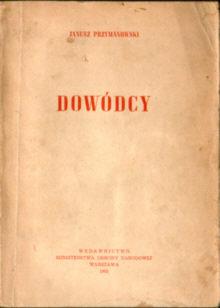 Przymanowski Janusz Dowódcy wojsko ode3017