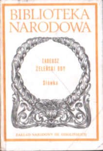 Kabaret Satyra Żeleński Boy Słówka Zelenski Slowka Biblioteka Narodowa Weiss Miodońska Brookes Michalik literatura polska 8304025116 83-04-02511-6 ode5028