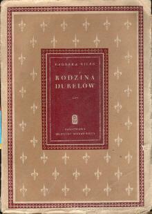 powieść tłumaczenie Giles Barbara Rodzina Durelów Jadwiga Olędzka Oledzka Gentle Bush odg2013
