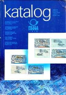 filatelistyka Praha wystawa znaczki katalog Svetova vystava postovnich znamek światowa wystawa filatelistyczna Praga Postage Stamps Czechoslovakia History Czechosłowacja odg3004