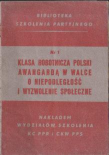 partia PPR PPS Polska Partia Robotnicza Socjalistyczna szkolenie odg4093
