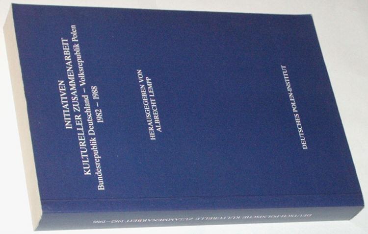 Lempp-Initiativen-Kultureller-Zusammenarbeit-Bundesrepublik-Deutschland-Volksrepublik-Polen-1982-1988-Darmstadt