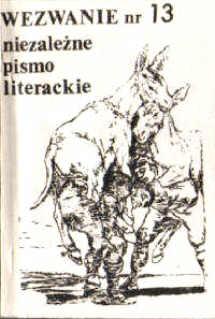 Wezwanie niezależne pismo literackie Solidarność Solidarnosc Wolicki Skalski Charłamp bibuła bibula odk1005