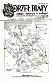 emigracja Londyn historia Orzeł Biały Orzel Bialy polonia Czechowicz Kampania wrześniowa 1939 Szudek Czarnobyl Wola Tygodnik Mazowsze Moskwa odk1028