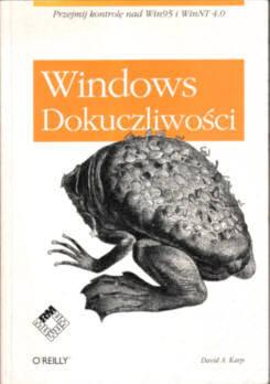 Karp Dokuczliwości Windows 83-87216-40-2 8387216402 Gala Windows annoyances Win95 WinNT odk2066