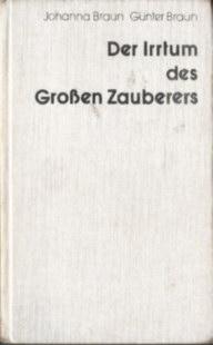 Braun Günter Johanna Der Irrtum des großen Zauberers fantastyka Science Fiction odk4076