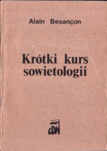 Besançon Besancon Aron Krótki kurs sowietologii owa0026