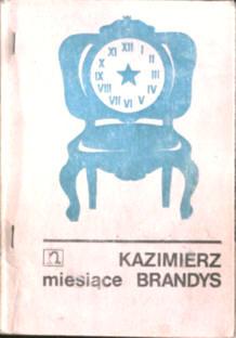 Miesiące 1978 1979 Brandys Kazimierz dziennik KOR Zapis owa0046