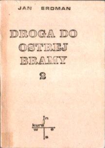 Erdman Droga do Ostrej Bramy Litwa Wilno owc0011