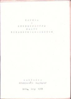 Geneza i konsekwencje Paktu Ribbentrop Mołotow Berger Hitler Stalin Tajny protokół Związek Radziecki 1939 Więckowski Enzensberger Krynicki Wierzyński Rosja Niemcy owc0020