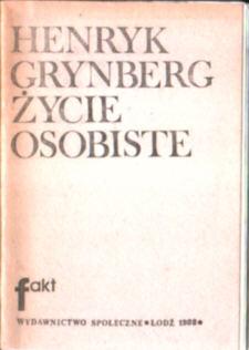 Grynberg Życie osobiste owc0041