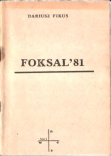 Fikus Foksal SDP 1981 Stowarzyszenie Dziennikarzy Polskich Bratkowski Urban owc0053