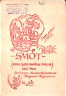 Fainberg Wolny Ogólnozawodowy Związek Ludzi Pracy  Walczak Walka Klas SMOT komunizm kominiści Czwarta Międzynarodówka owc0055