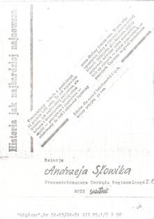 Noc która wstrząsnęła Polską stanu wojennego Łódź Odgłosy 13 grudnia 1981 Słowik Kropiwnicki więzienie stan wojenny NSZZ Solidarność Solidarnosc pbis011