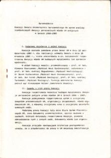 Uniwersytet Warszawski Marzec 1968 wydarzenia marcowe represje zwolnienie z pracy pbis027