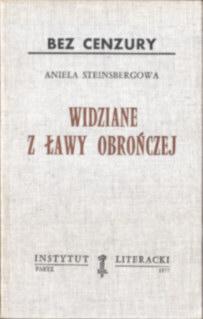 Steinsbergowa sąd sądownictwo PRL procesy polityczne Moczarski Trials Political crimes komunizm comunism pbis029