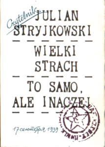 Stryjkowski 83-07-02058-1 8307020581 ZSRR Rosja Russia Stalin stalinizm komunizm okupacja niemcy Lwów Lviv Lwow pbis034
