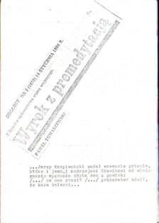 Tomaszewski Wyrok z premedytacją Z dziejów sądownictwa stanu wojennego Łódź Odgłosy 13 grudnia 1981 Słowik Kropiwnicki więzienie stan wojenny pbit006