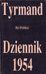 Tyrmand Dziennik 1954 83-7046-008-9 8370460089 Zieliński pbit015