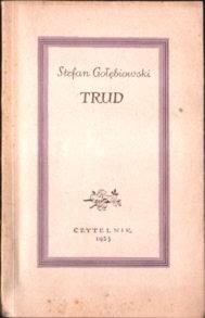 Autograf dedykacja autora Gołębiowski Trud wiersze poezja Marian Piechal Bieżuń Poetry Poems autograph pbj1002