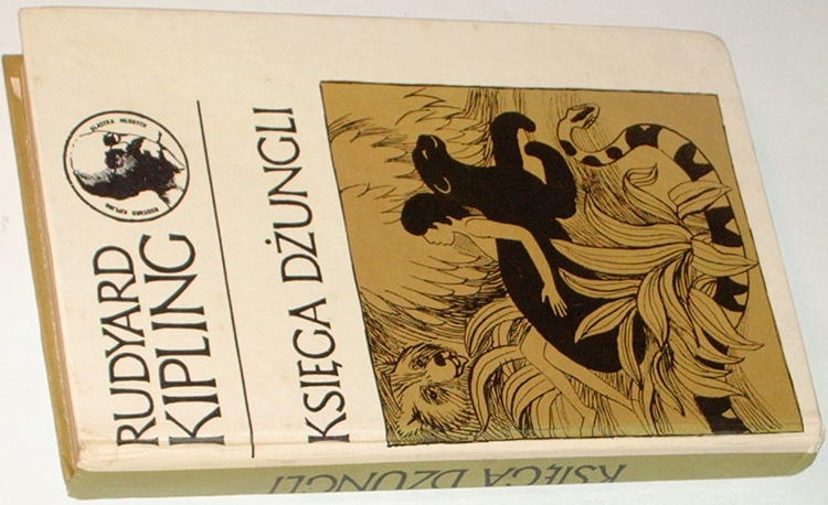 Kipling-Rudyard-Ksiega-dzungli-Nasza-Ksiegarnia-1973-Klasyka-Mlodych-The-Jungle-Book-Birkenmajer