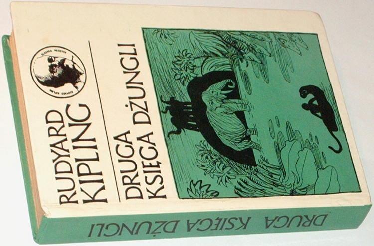 Kipling-Rudyard-Druga-ksiega-dzungli-Nasza-Ksiegarnia-1975-Klasyka-Mlodych-The-Second-Jungle-Book-Birkenmajer