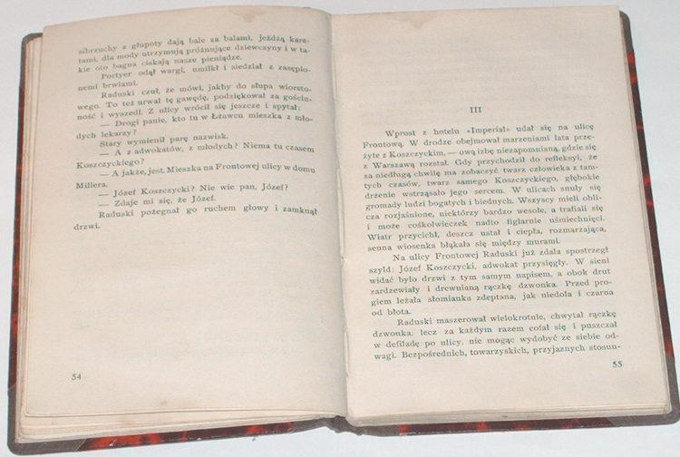 Zeromski-Stefan-Promien-Wydawnictwo-Mortkowicza-1928-Powiesci-Stefana-Zeromskiego