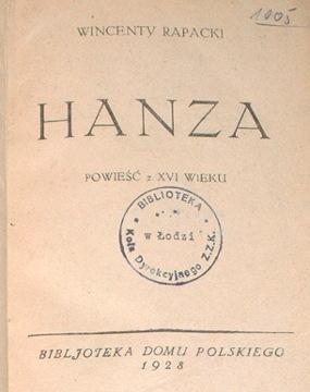 Rapacki Hanza Biblioteka Bibljoteka Domu Polskiego waa0030