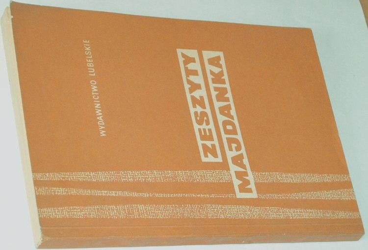 Zeszyty-Majdanka-VII-7-Wydawnictwo-Lubelskie-1973-oboz-koncentracyjny-Majdanek-Ruch-oporu-literatura-obozowa