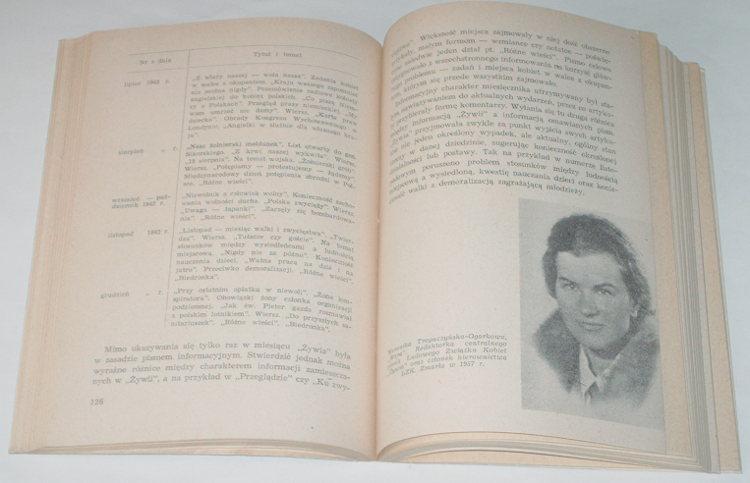 Golka-Bartlomiej-Prasa-konspiracyjna-Rocha-1939-1945-LSW-1960-wojna-okupacja-niemiecka-World-War-Underground-literature