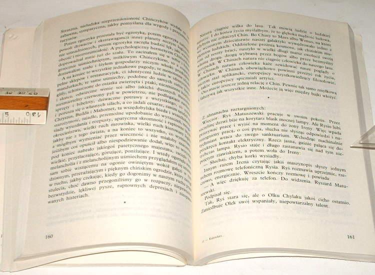 Konwicki-Tadeusz-Kalendarz-i-klepsydra-Czytelnik-1989-Literatura-pamietnik